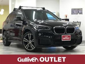 BMW X1 sDrive 18i Mスポーツ 純正HDDナビ・バックカメラ・衝突軽減ブレーキ・レーンキープアシスト・ルーフレール・黒革シート・シートヒーター・ミラーETC・LEDライト・パワーバックドア・純正19インチアルミ