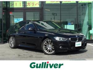 BMW 3シリーズ 320dブルーパフォーマンス Mスポーツ 純正ナビ/CD/DVD/BT/AUX/USB/Bカメラ/ETC/クルコン/純正19インチAW/パドルシフト/コーナーセンサー/メモリーシート/パワーシート/AUTOライト/HID
