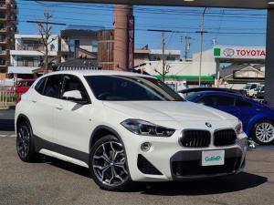 BMW X2 xDrive 18d MスポーツX 正規ディーラー車/禁煙車/アドバンストセーフティPKG/コンフォートPKG/ストップ&ゴー機能付ACC/純正HDDナビ/Bt/Bカメラ/インテリジェントセーフティ/前席シートヒータ/クリアランスソナー
