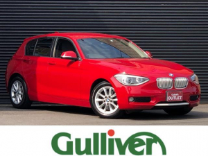 BMW 1シリーズ 116i スタイル 1シリーズ スタイル ハーフレザーシート 純正HIDヘッドライト フォグランプ オートライト 純正HDDナビ バックカメラ 純正16インチアルミ キーレスキー アイドリングストップ MTモード付きAT