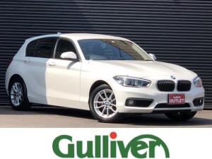 BMW 1シリーズ 118i 1シリーズ バックカメラ 純正LEDヘッドライト 前後フォグランプ オートライト オートワイパー 純正HDDナビ Bluetooth USB コーナーセンサー 純正16インチアルミ MTモード付きAT