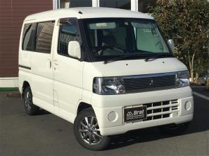 三菱 タウンボックス LX 両側スライドドア 純正オーディオ 切替4WD