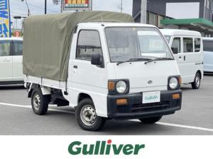 スバル サンバートラック ベースグレード SDX 4WD 5MT  社外CD 幌付き