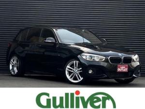 BMW 1シリーズ  1シリーズ Mスポーツ OP18インチアルミ インテリジェントセーフティ クルコン レーンキープ 純正LEDヘッドライト フォグランプ スマートキー バックカメラ プッシュスタート 純正HDDナビ