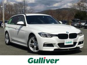 BMW 3シリーズ Mスポーツ インテリジェントセーフティシステム 純正SDナビ レーンモニタリング レーダークルーズコントロール パワーバックドア 前席パワーシート  純正18inAW 社外16InAW付スタッドレス積込