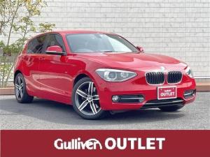 BMW 1シリーズ 116i スポーツ モトーレン点検記録6枚/HDDナビ/Bカメラ/バックカメラ/スマートキー/スペアキー/ETC/CD/DVD/MSV/Bluetooth/イモビライザー/横滑り防止/バックソナ-/保証書/取説書