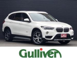 BMW X1 sDrive 18i xライン sDrive 18i Xライン ハーフレザー インテリジェントセーフティ パワーリアゲート 純正HDDナビ バックカメラ Bluetooth 純正LEDヘッドライト フォグランプ クリアランスソナー