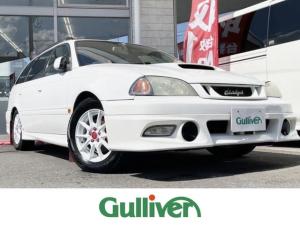 トヨタ カルディナ GT-T 4WD/5MT/社外SDナビ(Bluetooth・フルセグ・SD・DVD・CD・ラジオ)/バックカメラ/社外エアロ/HIDヘッドライト/ETC/オートライト/新車時保証書/取扱説明書/ナビ取扱説明書