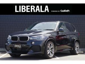BMW X5 xDrive 35d Mスポーツ 黒革 サンルーフ セレクトパッケージ ACC カーボンスポイラー 純正ナビ 全方位カメラ フルセグ 全席シートヒーター 前席パワーシート OP純正20インチAW