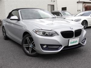 BMW 2シリーズ 220iカブリオレ スポーツ 2シリーズ カブリオレ スポーツ Bluetoothオーディオ対応 レッドレザーシート