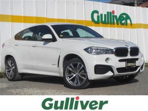BMW X6 xDrive 35i Mスポーツ 革シート シートヒーター 衝突軽減ブレーキ レーダークルーズ レーンアシスト HDDナビ フルセグTV 全周囲カメラ ETC LEDヘッドライト  電動リアゲート