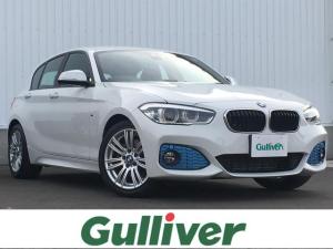 BMW 1シリーズ  正規輸入車/ディーゼル/ターボ/衝突被害軽減/純正メーカーナビ/CD/DVD/MSV/Bluetooth/USB/AUX/ETC 2.0 LED/オートライト/F/Rフォグランプ/Rコーナーセンサー