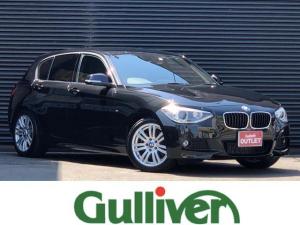 BMW 1シリーズ 116i Mスポーツ 1シリーズ Mスポーツ 純正メーカーナビ バックカメラ Bluetooth 社外地デジチューナー ドラレコ キーレスキープッシュスタート 純正17インチアルミ 純正HIDヘッドライト フォグランプ
