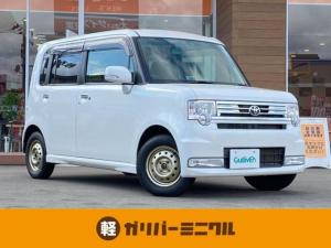 トヨタ ピクシススペース カスタム X 4WD/社外メモリナビ/CN-5300WD・CD/DVD・AM/FM・Bluetooth接続/HIDライトフォグランプ/電動格納ミラー/ウィンカーミラー