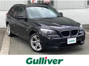 BMW X1 xDrive 20i Mスポーツ 社外HDDナビ(CD DVD MSV AM FM) フルセグTV ステアリングスイッチ キセノンヘッドライト オートライト フロント/リアフォグランプ ルームミラー内蔵型ETC レザーステアリング