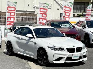 BMW M2 ベースグレード 禁煙車/harman/kardon/サンルーフ/純正ブレーキキャリパー/HDDナビ/CD/DVD/USB/BT/バックカメラ/ミラー内臓型ETC/インテリジェントセーフティ