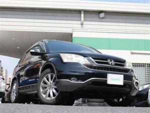 ホンダ CR-V ZX インターナビHDD  ワンセグTV  フロントパワーシート  ハーフレザーシート  HIDオートライト スマートキー  純正18インチアルミホイール
