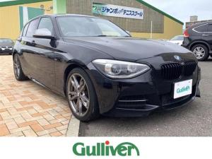 BMW 1シリーズ M135i 純正HDDナビ Bluetooth コンフォートアクセス バックカメラ ETC スマートキー プッシュスタート クルーズコントロール シートメモリー ウインカーミラー パドルシフト