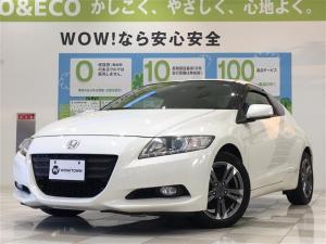 ホンダ CR-Z αブラックレーベル 純正ナビ 地デジ Bカメラ シートヒーター レザーシート