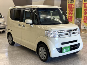 ホンダ N-BOX G・Lパッケージ 4WD SDナビ地デジ バックカメラ ETC スマートキー
