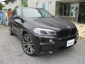 BMW X5 xDrive 35d Mスポーツ ワンオーナー/セレクトパッケージ付/純正メーカーナビ/ガラスルーフ/黒革シート/全方位カメラ/フルセグTV/前席パワーシート/ミラー一体型ETC