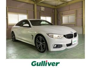 BMW 4シリーズ 420iクーペ Mスポーツ 純正HDDナビ・バックカメラ・ビルトインETC・純正19インチアルミ・レーダークルーズ・レーンキープアシスト・ドラレコ・スマートキー・禁煙車