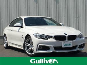 BMW 4シリーズ 420iクーペ Mスポーツ インテリジェントセーフティー/レーンキープアシスト/クルーズコントロール/可変スピードLIM/パワーシート/アイドリングストップ/純正HDDナビ/デュアルエアコン/フォグランプ/ETC/スマートキー
