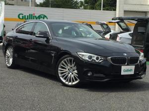 BMW 4シリーズ 435iグランクーペ ラグジュアリー インテリジェントセーフティー レーンディパーチャーウォーニング アクティブクルーズコントロール アイドリングストップ 純正HDDナビ/フルセグTV ヘッドアップディスプレイ