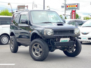 スズキ ジムニー ワイルドウインド 4WD リフトアップ 社外マフラー ナビフルセグ