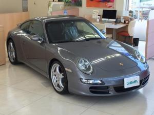 ポルシェ 911 911カレラS 修復歴無し 左ハンドル 6速マニュアル カロッツェリアメモリーナビ/フルセグ PSM PASM 格納式スポイラー 黒革シート 前席シートヒーター クルーズコントロール ドラレコ スペアキーレス