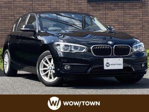 BMW 1シリーズ 118i LEDオートライト 純正16インチアルミホイル フォグランプ 社外フロアマット 電動格納ウィンカーミラー スマートキー ETC