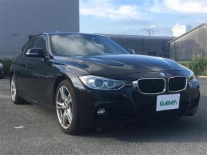 BMW 3シリーズ アクティブハイブリッド3 Mスポーツ メーカナビ バックカメラ フルセグテレビ Bluetooth 黒革パワーシート サンルーフ 衝突軽減ブレーキ コーナーセンサー クルーズコントロール サンルーフ