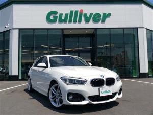 BMW 1シリーズ 118i Mスポーツ 純正ナビ Bluetooth 走行中DVD再生可 バックカメラ インテリセーフ クルーズコントロール LEDヘッドライト ETC