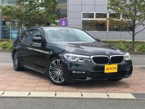 BMW 5シリーズ 523d Mスポーツ インテリジェントセーフティー/純正HDDナビ/トップ・ビュー+サイド・ビュー・カメラ/ETC/前後ドライブレコーダー/アクティブ・クルーズ・コントロール(ストップ&ゴー機能付)/USB充電ポート
