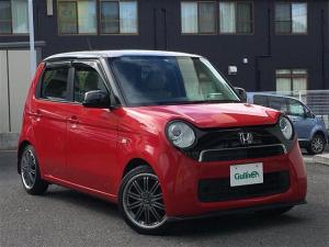 ホンダ N-ONE G 赤黒ツートンカラー SDナビ 地デジTV プッシュスタートボタン HIDヘッドライト ローダウン