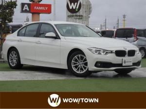 BMW 3シリーズ 318i インテリジェントセーフティ車線変更警告クルーズコントロール純正HDDナビDVDCD再生可バックカメラ前席パワーシートドライブレコーダーミラー内蔵ETCLEDヘッドライト
