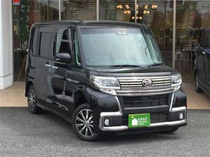 ダイハツ タント カスタムX トップエディションSAIII 社外ナビ/フルセグTV/両側パワースライドドア/運転席シートヒーター