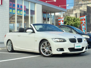 BMW 3シリーズ 335iカブリオレ Mスポーツパッケージ 黒革 スマートキー 純正ナビ ETC