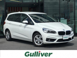 BMW 2シリーズ 218dグランツアラー コンフォートPKG/7人乗/ディーゼル/衝突軽減/車線逸脱/純正ナビ/Bluetooth/社外フルセグ/バックカメラ/ETC/電動リアゲート/クルーズコントロール/クリアランスソナー/LED/純正AW