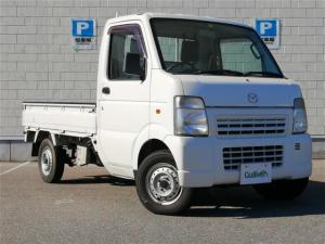 マツダ スクラムトラック ベースグレード 4WD 5速MT ワンオーナー  オーディオ(FM・AM)ドアバイザー 取扱説明書