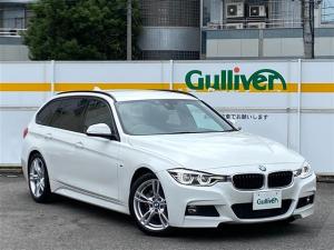 BMW 3シリーズ 320dツーリング Mスポーツ 禁煙/ワンオーナー/正規ディーラー車/ディーラー記録簿/H30-R2/純正HDDナビ/CD/DVD/BT/USB/AUX/MSV/Bカメラ/ETC/アルピンホワイトIII/保/取説/ナビ取/スペアキー
