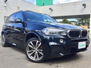 BMW X5 xDrive 35d Mスポーツ 4WD/純正ナビ/フルセグ/DVD/CD/FM/AM/BT/全方位カメラ/バック/フロントカメラ/前席パワーシート/サンルーフ/革シート/クルーズコントロール/パドルシフト
