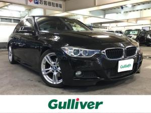 BMW 3シリーズ 320d Mスポーツ /ディーゼルターボ/純正HDDナビ/地デジTV/衝突軽減ブレーキ/クルーズコントロール/パワーシート/コンフォートアクセス/Mスポーツ専用AW/パドルシフト/ミラー一体型ETC
