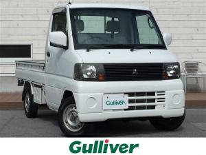 三菱 ミニキャブトラック VX-SE 4WD/5速MT/純正オーディオ/AC/純正ゴムマット/取扱説明書