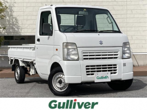 スズキ キャリイトラック KCエアコン・パワステ 4WD/5速MT/AC/オーディオ/取扱説明書/スペアキー1本/ヘッドライトレベライザー