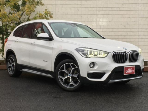 BMW X1 xDrive 18d xライン HDDナビ Bカメラ 半革 LED灯 ETC 衝突軽減