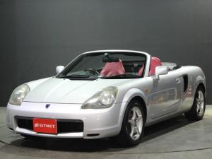 トヨタ MR-S Sエディション 1オーナー 16AW 赤革調シートカバー