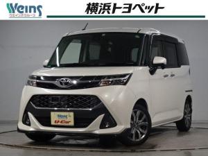 トヨタ タンク カスタムG-T 衝突軽減 SDナビ バックカメラ ETC 両側電動スライドドア LEDヘッドライト クルーズコントロール