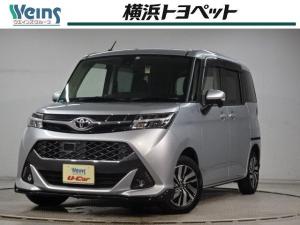 トヨタ タンク カスタムG S スマートキー メモリーナビ バックカメラ