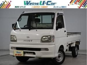 ダイハツ ハイゼットトラック エアコンパワステ MT マニュアル5F・ETC・走行104000km